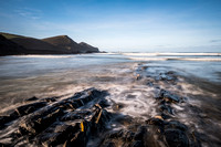 Winters morning at Crackington Haven