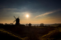 Brill Windmill Sunset 01